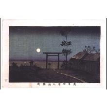 Inoue Yasuji: True Pictures of Famous Places in Tokyo: Taro Inari Shrine in Asakusa-tanbo - Edo Tokyo Museum
