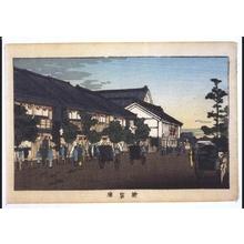 井上安治: True Pictures of Famous Places in Tokyo: Shintomi-za Theatre - 江戸東京博物館