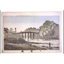 井上安治: True Pictures of Famous Places in Tokyo: Suidobashi Aqueduct - 江戸東京博物館