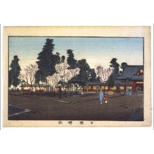 井上安治: True Pictures of Famous Places in Tokyo: Hie Shrine - 江戸東京博物館