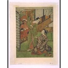 Isoda Koryusai: Twelve Elegant Festivals: 'Hinamatsuri' Doll Festival - Edo Tokyo Museum