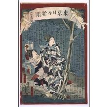 落合芳幾: Tokyo Nichinichi Newspaper No. 694 - 江戸東京博物館