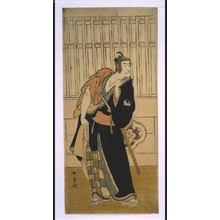 Katsukawa Shunsho: ICHIKAWA Danjuro V Playing 'Sukeroku' - Edo Tokyo Museum