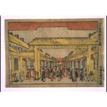 Utagawa Toyoharu: Famous Places in Edo: Shin-Yoshiwara Licensed Quarter - Edo Tokyo Museum