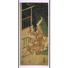 Ippitsusai Buncho: MATSUMOTO Koshiro III as Soga Goro - Edo Tokyo Museum