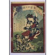 落合芳幾: Tokyo Nichinichi Shimbun Newspaper, No. 895 - 江戸東京博物館