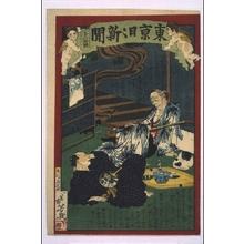 Ochiai Yoshiiku: Tokyo Nichinichi Shimbun Newspaper, No. 1060 - Edo Tokyo Museum