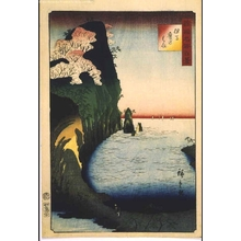 Utagawa Hiroshige II: One Hundred Views of Famous Places in the Provinces: Taka-no-hama Beach, Tajima - Edo Tokyo Museum