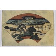 Utagawa Hiroshige: Eight Views of Ikaho: Clouds over Sekiya - Edo Tokyo Museum