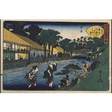 Utagawa Hiroshige: Distinguished Edo Restaurants: The Ogiya at Oji - Edo Tokyo Museum