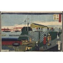 Ikkei: Famous Views of Tokyo: The Takanawa Steam Railway - Edo Tokyo Museum