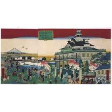 一景: The Bank Near Navy Bridge - 江戸東京博物館