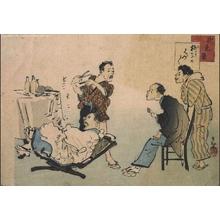 Kobayashi Kiyochika: Tokyo Scenes: An Assortment of Chairs - Edo Tokyo Museum