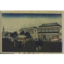 井上安治: Matsuda in the Kyobashi District - 江戸東京博物館