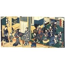 Utagawa Kunisada: Women Dressing Up - Edo Tokyo Museum