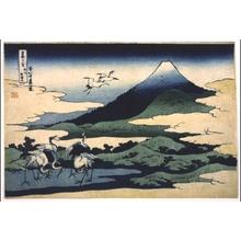 Katsushika Hokusai: Thirty-six Views of Mt. Fuji: Umezawa in Sagami Province - Edo Tokyo Museum