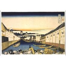 Katsushika Hokusai: Thirty-six Views of Mt. Fuji: Nihonbashi, Edo - Edo Tokyo Museum