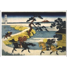 Katsushika Hokusai: Thirty-six Views of Mt. Fuji: Sekiya Village on the Sumida River - Edo Tokyo Museum