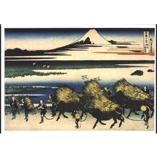 Katsushika Hokusai: Thirty-six Views of Mt. Fuji: The Paddies of Ono in Suruga Province - Edo Tokyo Museum