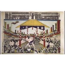 UMENOYA Sessei: A Joint Osaka and Tokyo Sumo Tournament - Edo Tokyo Museum