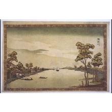 柳々居辰斎: The Sumida River - 江戸東京博物館