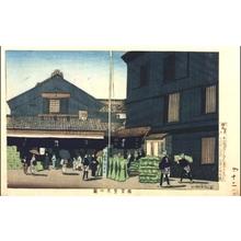 小林清親: The Flourishing Horidome District - 江戸東京博物館
