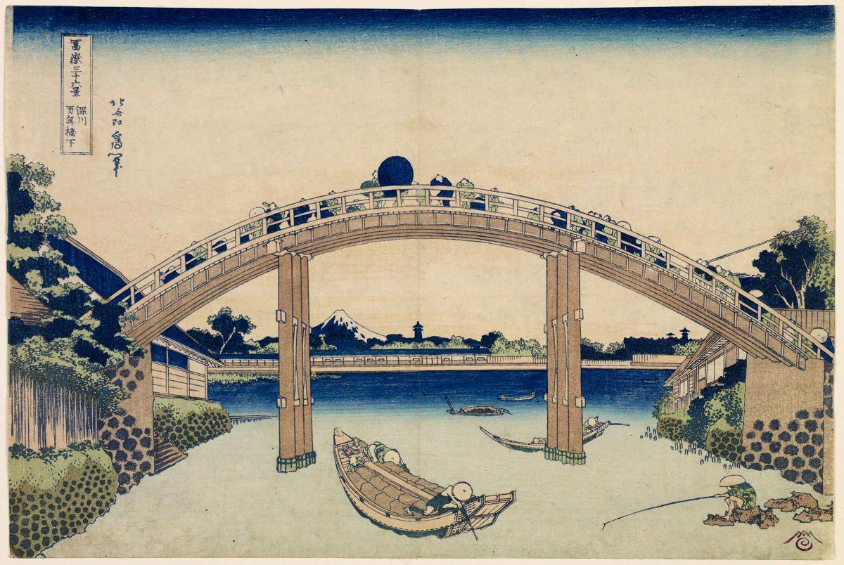 Woodblock Prints For Sale - Katsushika Hokusai - Ohmi Gallery