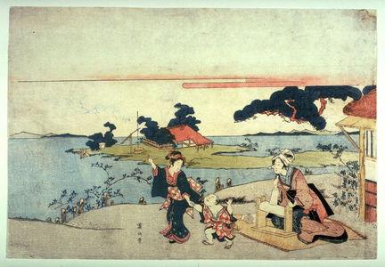 渓斉英泉: The Settsu Tama River - Legion of Honor