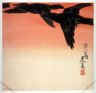 Shibata Zeshin: Flight of Crows - Legion of Honor