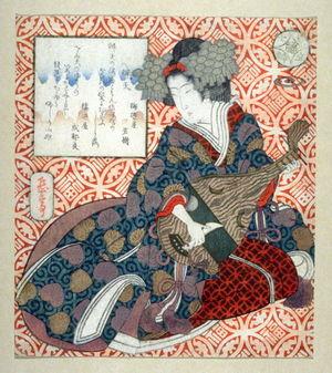 Yashima Gakutei: Benten, from the series AllusIons to the Seven Lucky Gods (Mitate shichifukujin) - Legion of Honor
