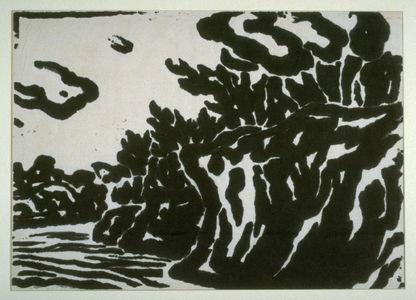 Gajin Kosaka: Landscape at Matsushima - Legion of Honor