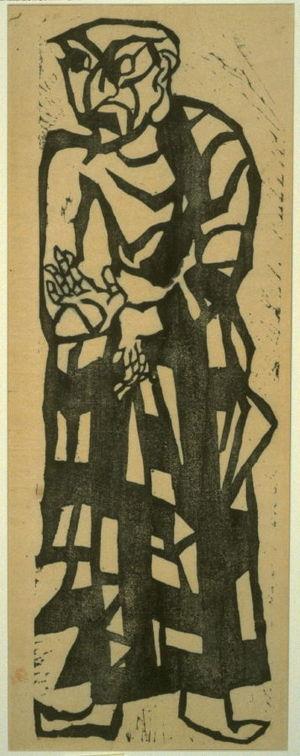 Munakata Shiko: Mokukenren from Great Disciples of Buddha - Legion of Honor
