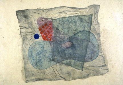 Onchi Koshiro: Abstract Composition (Seascape) - Legion of Honor