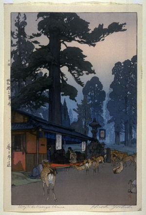 吉田博: Way to the Kasuga Shrine - Legion of Honor