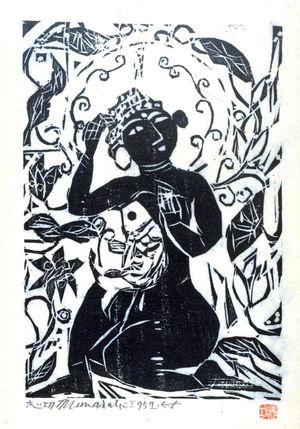 Munakata Shiko: Fish and Flower and Female Buddha - Legion of Honor