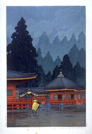 川瀬巴水: Futatsudo in Nikko - Legion of Honor