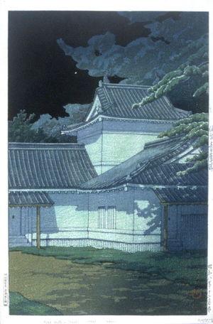 川瀬巴水: Aoba Castle in Sendai - Legion of Honor
