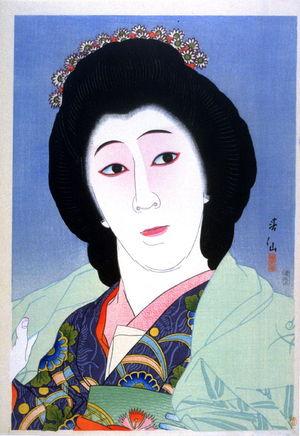 名取春仙: Onoe Baiko as Koyuri - Legion of Honor