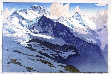 吉田博: Jungfrau (Swiss Alps) - Legion of Honor