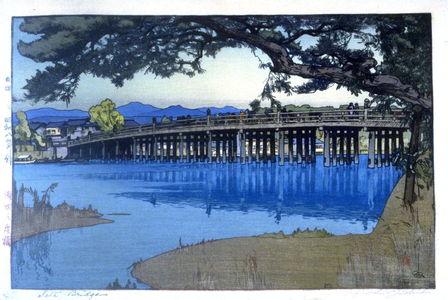 吉田博: Seta Bridge - Legion of Honor