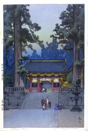 Yoshida Hiroshi: Toshogu Shrine - Legion of Honor