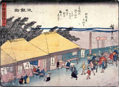Utagawa Hiroshige: Chiryu, no. 40 from a series of Fifty-three Stations of the Tokaido (Tokaido gojusantsugi) - Legion of Honor