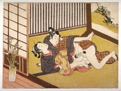 Isoda Kory?sai: Couple making love - Legion of Honor