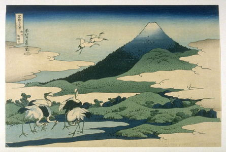 Katsushika Hokusai: To the Left of Umezama in Sagami Privince - No.27 from: 36 Views of Fuji - Legion of Honor