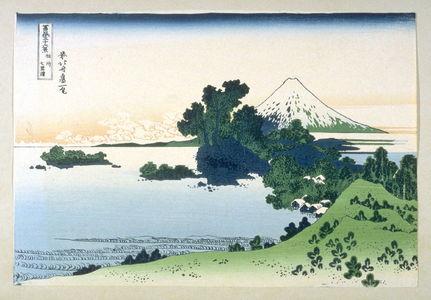 Katsushika Hokusai: [View of Mount Fuji] - From: 36 Views of Fuji - Legion of Honor