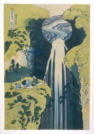 Katsushika Hokusai: Kiso, Amida - From Waterfall Series - Legion of Honor