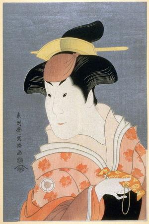 東洲斎写楽: The Actor Iwai Hanshiro IV, plate 19 from the portfolio Sharaku, Vol. 1 (Tokyo: Adachi Colour Print Studio, 1940) - Legion of Honor