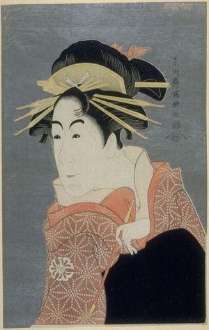 Toshusai Sharaku: The Actor Matsumoto Yonesaburo, plate 27 from the portfolio Sharaku, Vol. 1 (Tokyo: Adachi Colour Print Studio, 1940) - Legion of Honor