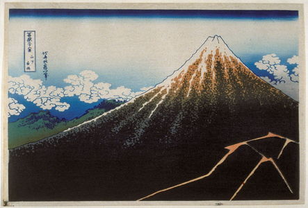 Katsushika Hokusai: Sanka Hakuu - from 36 Views of Fuji - Legion of Honor
