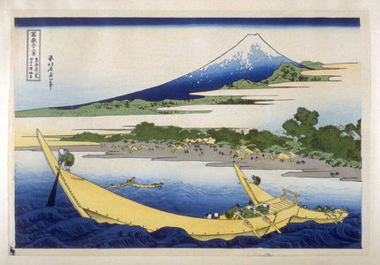 Katsushika Hokusai: Ejiri Tagono-Ura - from 36 Views of Fuji - Legion of Honor